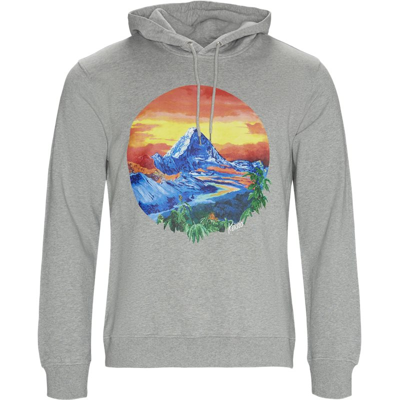 Image of   Kenzo Regular fit W3624ME Sweatshirts Grå Mel